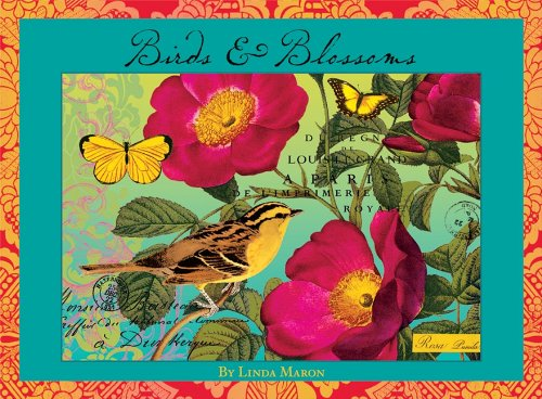 9781416226796: Birds & Blossoms Boxed Notecards