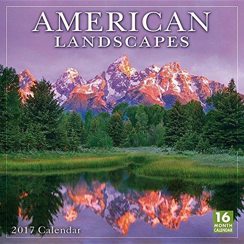 American Landscapes 2017 Wall Calendar