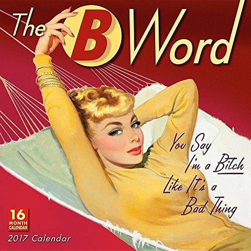 B Word 2017 Wall Calendar