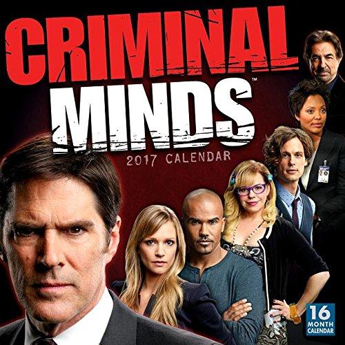 9781416242673: Criminal Minds 2017 Wall Calendar