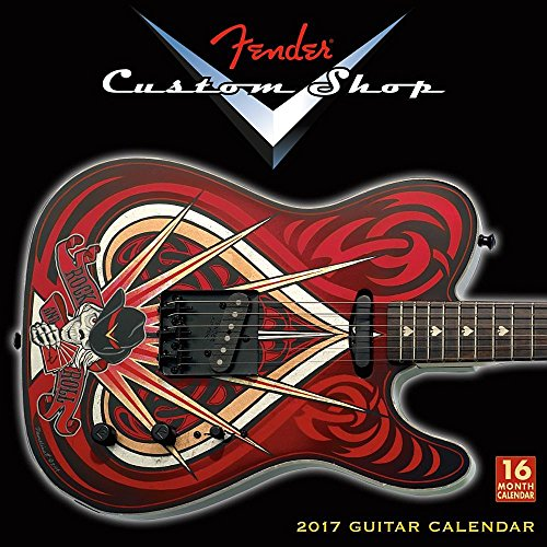 9781416242758: Fender Custom Shop 2017 Wall Calendar (Square Wall)