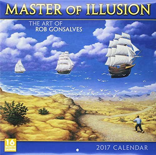 9781416242871: Cal 2017-Master of Illusion (Square)