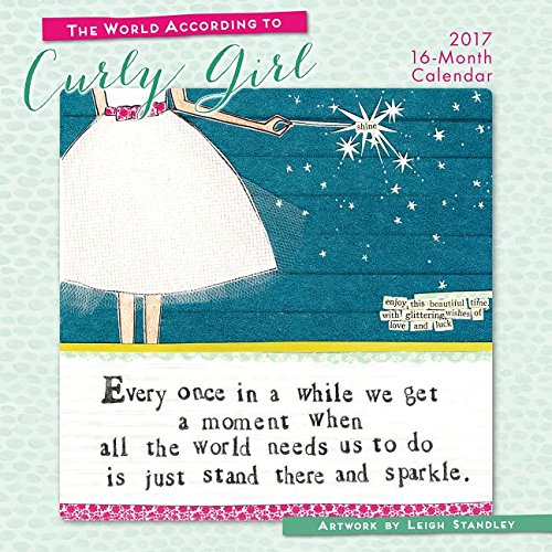 The World According to Curly Girl 2017 Wall Calendar
