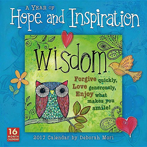 A Year of Hope and Inspiration 2017 Wall Calendar