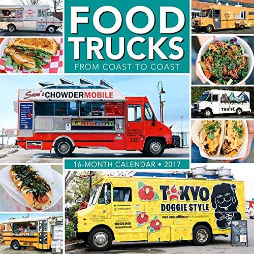 9781416243229: Food Trucks from Coast to Coast 2017 Wall Calendar