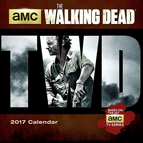 The Walking Dead AMC 2017 Mini Calendar