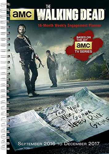 9781416243991: WALKING DEAD AMC 2017 ENGAGEMENT PLANNER (Desk Diary)