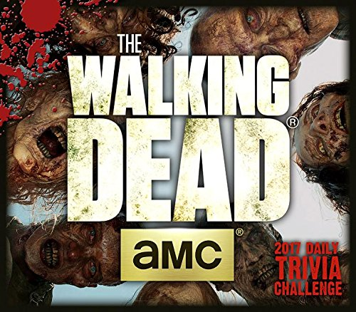 9781416244325: Walking Dead Trivia Challenge AMC 2017 Boxed/Daily Calendar