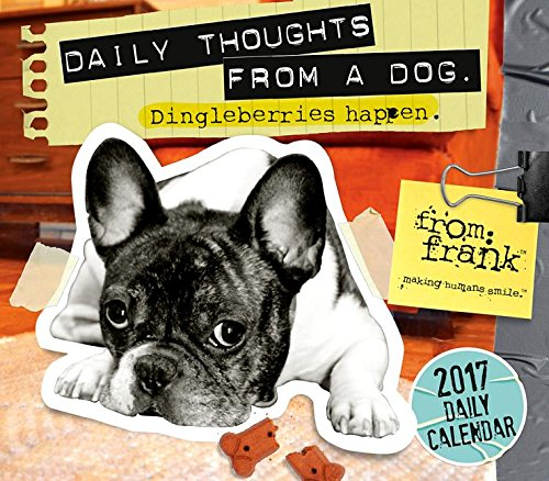 9781416244349: From Frank: Daily Thoughts From a Dog 2017 Boxed/Daily Calendar