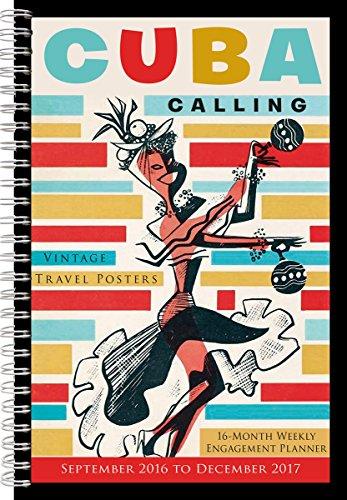 9781416244660: Cuba Calling: Vintage Travel Posters 2017 Engagement Calendar