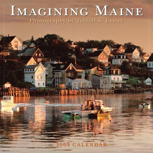 9781416280323: Imagining Maine 2009 Calendar