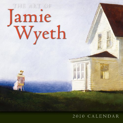 9781416282143: Art of Jamie Wyeth 2010 Wall Calendar (Calendar)
