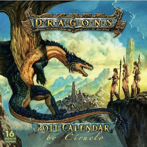 Dragons by Ciruelo 2011 Wall Calendar (Calendar)