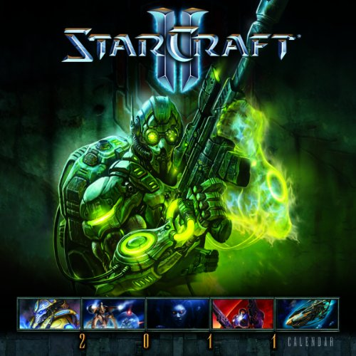 StarCraft II 2011 Wall Calendar (Calendar): Blizzard Entertainment