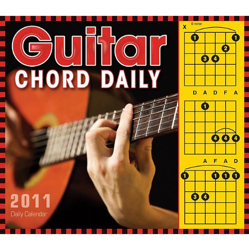 Guitar Chord 2011 Daily Boxed Calendar (Calendar): Hal Leonard Corp.