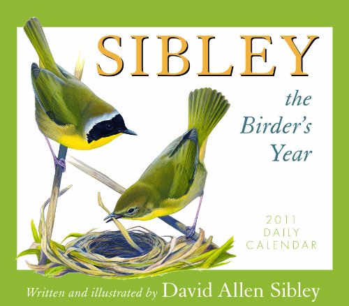Sibley the Birder's Year 2011 Daily Boxed Calendar (Calendar) (1416286306) by David Allen Sibley