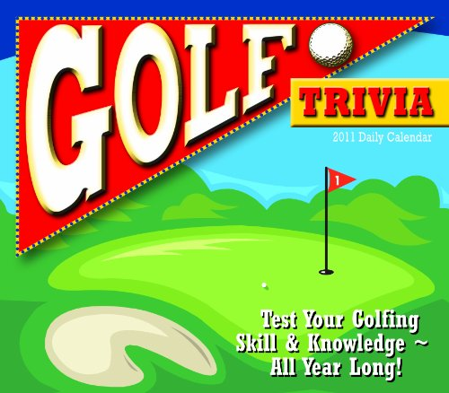 9781416286400: Golf Trivia 2011 Daily Boxed Calendar (Calendar)