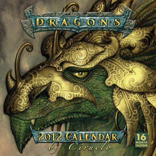 Dragons by Ciruelo 2012 Wall (calendar)
