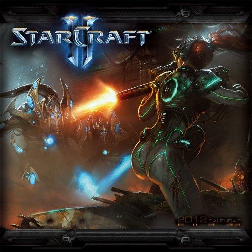 9781416287117: StarCraft II 2012 Wall Calendar