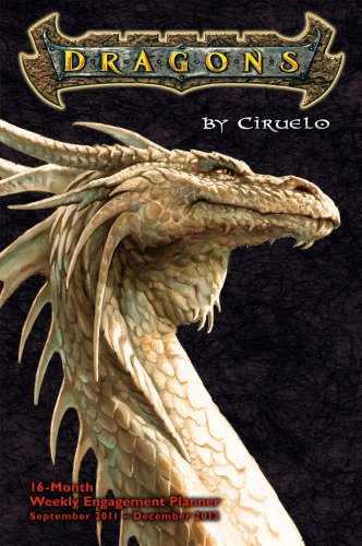 9781416287896: Dragons by Ciruelo 2012 Engagement (calendar)