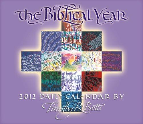 9781416288091: The Biblical Year 2012 Box/Daily (calendar)