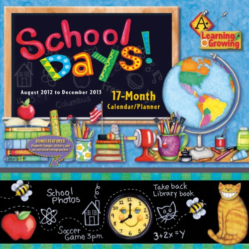 9781416289678: School Days 2013 Wall Planner (calendar)