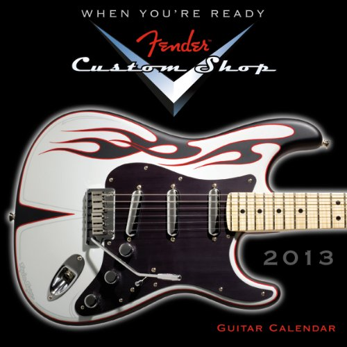 9781416289814: Fender(TM) Custom Shop Guitar 2013 Mini (calendar)