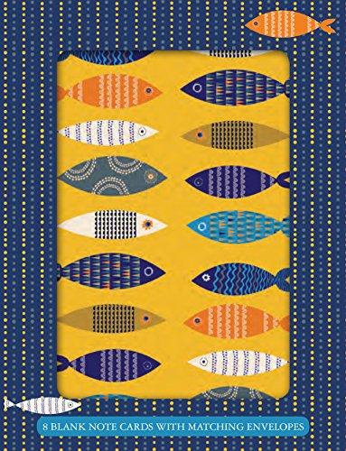 Fresh Fish Boxed Blank Notes