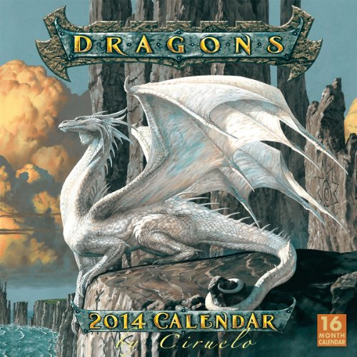 Dragons by Ciruelo 2014 Wall (calendar): Cabral, Ciruelo