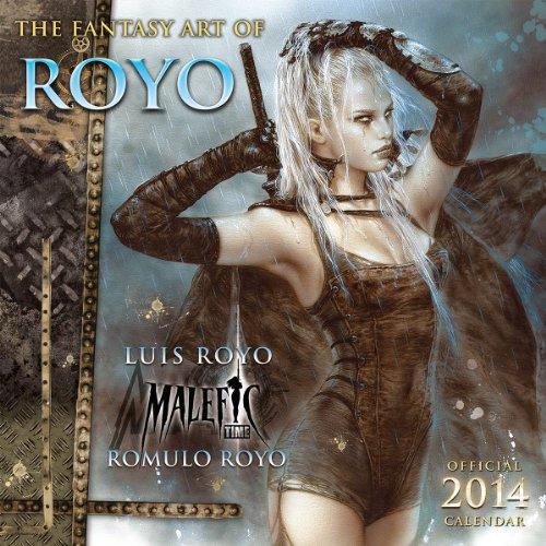 9781416293736: The Fantasy Art of Royo 2014 Calendar