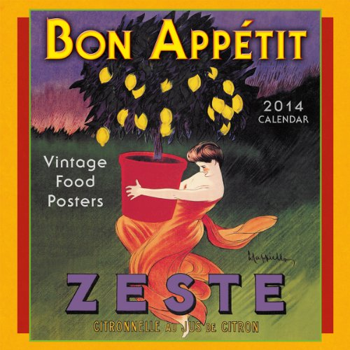 9781416294207: Bon Appétit 2014 Mini (calendar) (English and French Edition)