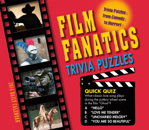 9781416294542: Film Fanatics Trivia Puzzles 2014 Boxed/Daily (calendar)