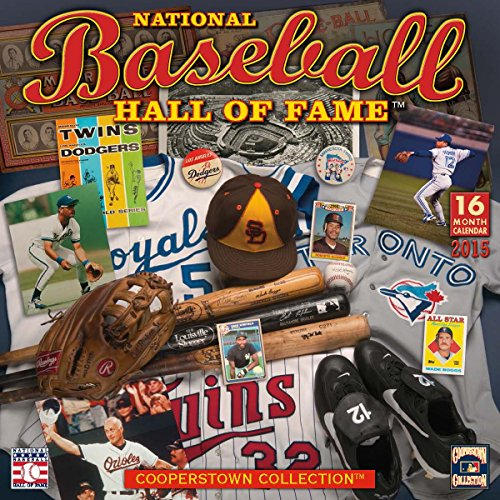 The National Baseball Hall of Fame(TM) 2015 Wall Calendar (Cooperstown Collection): National ...