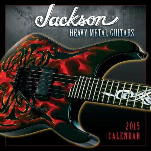 9781416295341: Jackson Heavy Metal Guitars 2015 Calendar