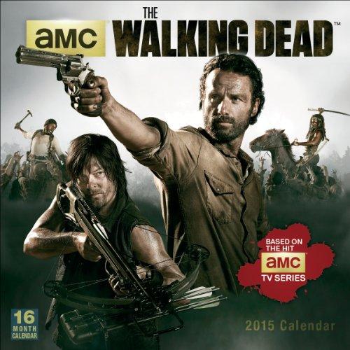 9781416295587: The Walking Dead 2015 Wall Calendar