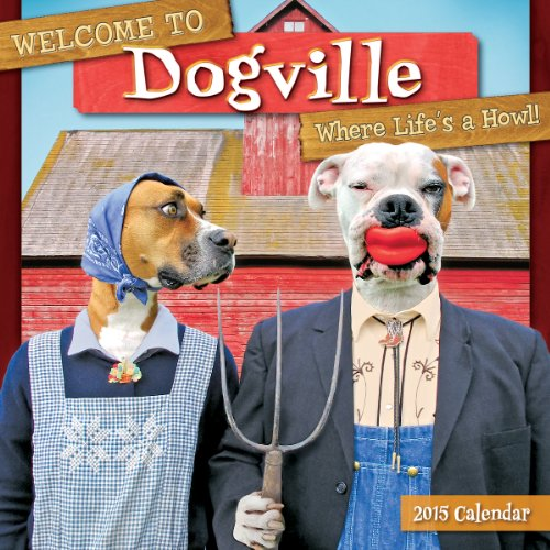 9781416295846: Welcome to Dogville 2015 Wall Calendar