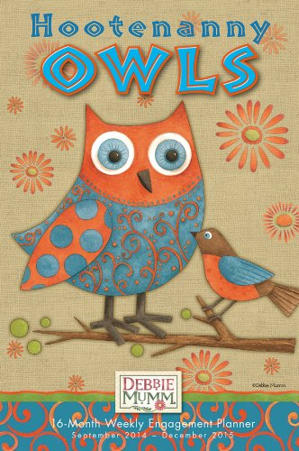 9781416296393: Hootenanny Owls 2015 Weekly Engagement Calendar