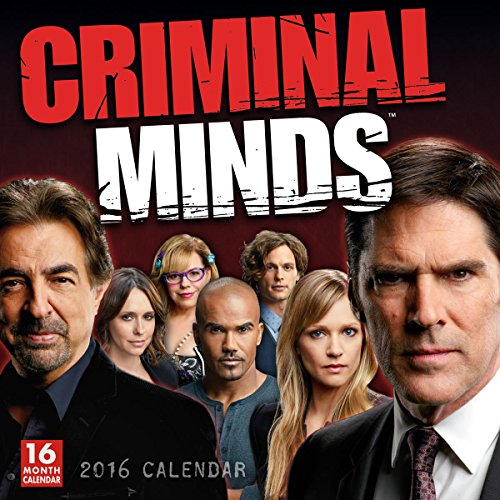 9781416297345: Criminal Minds 2016 Calendar