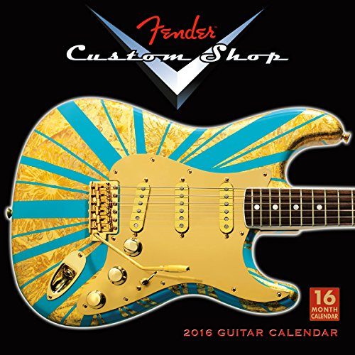 9781416297413: Fender® Custom Shop Guitars 2016 Wall Calendar