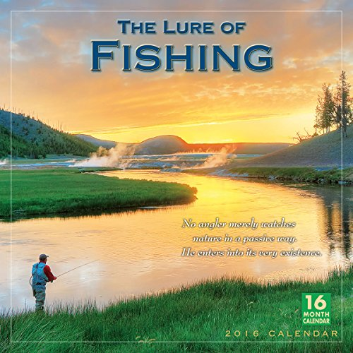 9781416297529: The Lure of Fishing 2016 Calendar