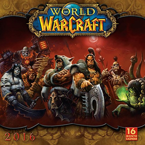 9781416297833: Cal 2016-World of Warcraft (Square)