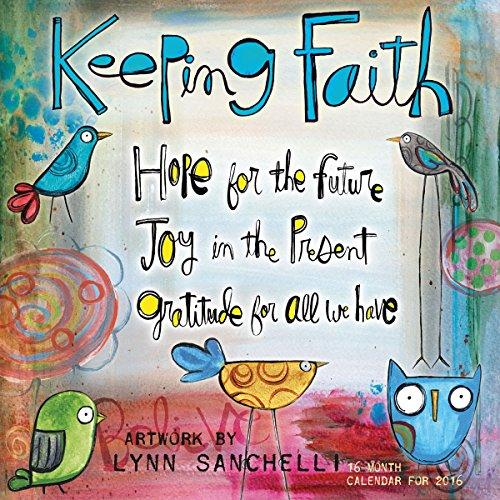 9781416297871: Keeping Faith 2016 Wall Calendar