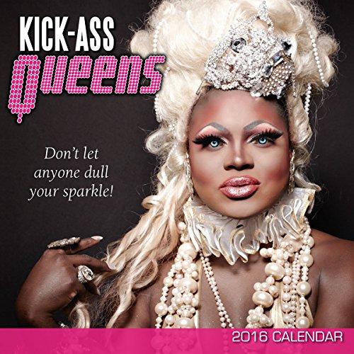 9781416297970: Kick-Ass Queens 2016 Wall Calendar