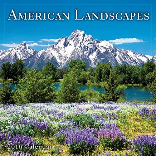 9781416298410: American Landscapes 2016 Calendar