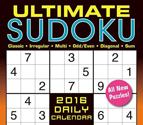 9781416298960: Ultimate Sudoku 2016 Boxed/Daily Calendar