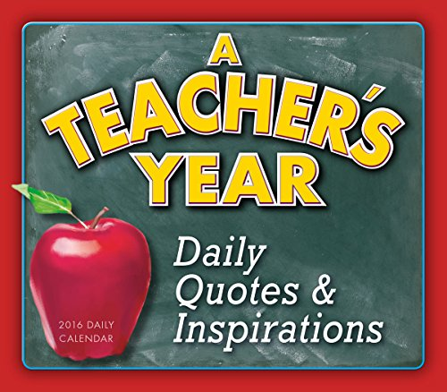 Teacher's Year 2016 Boxed/Daily Calendar: Sellers Publishing