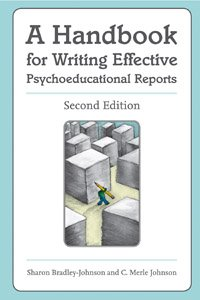 9781416401407: A Handbook for Writing Effective Psychoeducational Reports