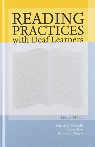 9781416401926: Reading Practices With Deaf Learners
