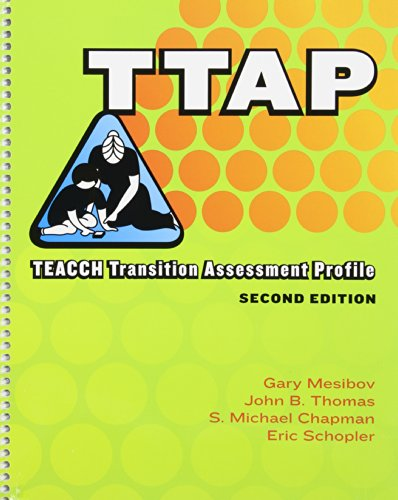 9781416401933: Teacch Transition Assessment Profile (TTAP)