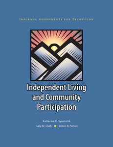 9781416403364: Informal Assessments for Transition: Independent Living and Community Participation